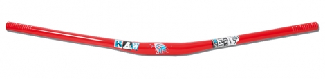 SB3 hanger RAW EXPLICIT Statement 31.8mm 780mm 10mm Red Blue