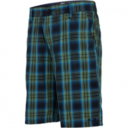 OAKLEY Short PLAID WALKSHORT Navy Blue