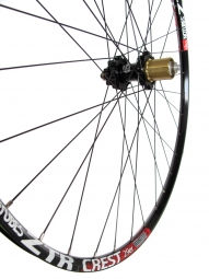 HOPE 29'' Rear Wheel Hub ZTR CREST EVO Rays free 9 mm Black