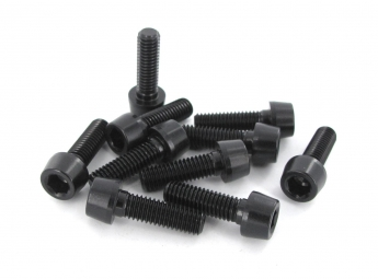 MSC Kit 10 Vis Alu M5 x 16 mm 7075T6 Noir