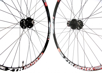 ASTERION AM Wheelset Rim ZTR ARCH Ex Hub AIVEE Rays Dlight 6 holes 9mm 26'' black