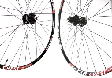 ASTERION Wheelset XC Rim ZTR CREST Hub AIVEE Rays Dlight 6 holes 9mm 29'' Black