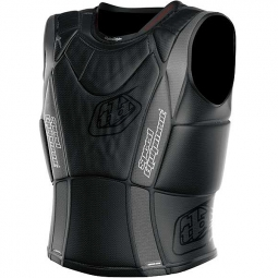 troy lee designs gilet de protection sans manches 3800 noir kid xl