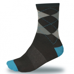 endura chaussettes argyll sock twinpack ultramarine tail 37 42