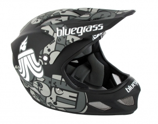 Casco integral Bluegrass EXPLICIT Negro Gris