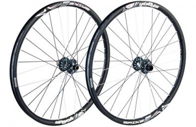 SPANK Paire de roues SPIKE 27.5´´ Race Axes 20mm et 9/12x135mm Noir