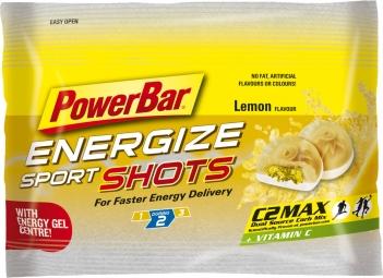 POWERBAR ENERGIZE SPORTSHOTS 60 gr Lemon - Citron
