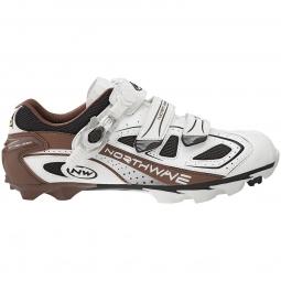 Chaussures VTT Northwave REBEL 2012 Blanc Capuccino