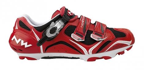 Chaussures VTT Northwave STRIKER 2012 Noire Rouge