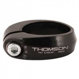 thomson collier de selle ecrou 31 8 mm noir