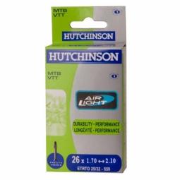 Hutchinson Chambre à air Butyl Airlight 26*1.70 à 2.10 Presta Petite Valve (à l´unité)