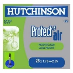 Hutchinson Chambre à air Butyl Protect´Air 26*1.70 à 2.35 Presta Petite Valve (à l´unité)
