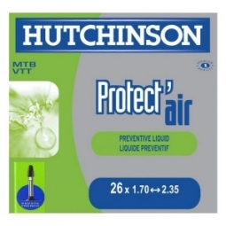 Hutchinson butyl tube Protect'Air 26 * 1.70 2.35 Small Presta Valve (each)
