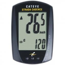 CATEYE Compteur CADENCE STRADA CC-RD200 Filaire Noir