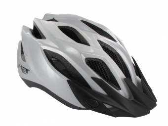 MET Casque CROSSOVER XL Silver Taille XL