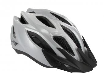 MET CROSSOVER Helmet Silver XL Size XL