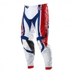 TROY LEE DESIGN Pantalon GP AIR TEAM Rouge Blanc