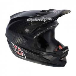 TROY LEE DESIGN 2013 PINSTRIPE D3 Helmet Carbon Black
