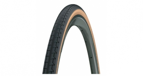Pneu michelin dynamic classic 700mm noir beige tringle rigide 20 mm
