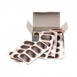 Boîte de 100 rustines Tip Top F2 ovales