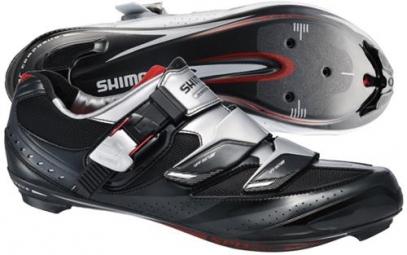 Chaussures Route Shimano R191 Noir Argent