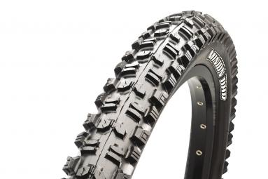 maxxis pneu arriere minion dhr 26 super tacky 42a tubetype rigide 2 35