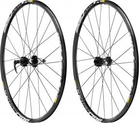 2013 Mavic Wheelset Centerlock Disc CROSSRIDE 26'' 9 mm
