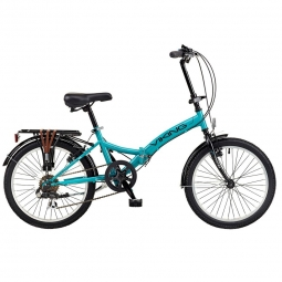 Vélo-Pliant Metropolis Aqua