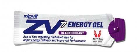 ZIPVIT ZV7 Gel énergétique Cassis 60 ml