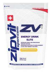 ZIPVIT ZV1 Boisson énergétique ELITE Orange 700 gr