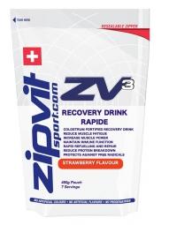 ZIPVIT ZV3 Boisson de récupération rapide Fraise 490 gr