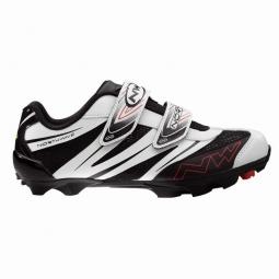 Chaussures VTT Northwave Spike Pro Noir Blanc