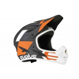 CASQUE EVOLVE STORM MATTE BLACK/ORANGE