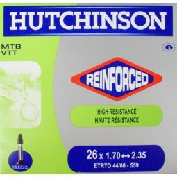 Hutchinson Chambre à air Butyl Reinforced 26*1.70 à 2.35 Presta Petite Valve (à l'unité)
