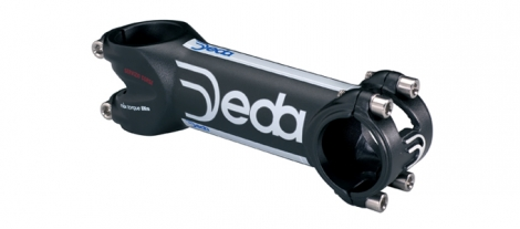 DEDA ZERO 100 SC Black Stem 31.8 mm Screws Titanium