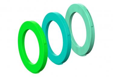 Kit para clasificar los pistones MAGURA 2 de 2015 Green Fluo / Turquoise / Mint