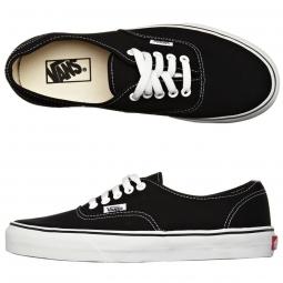VANS Paire de Chaussures AUTHENTIC Black