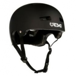TSG Evolution Helmet Bowl Solid Black L / XL