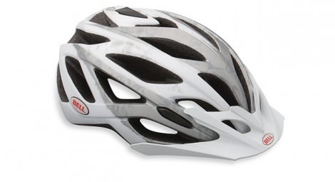 Casco Bell SEQUENCE Blanco Plateado
