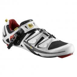 Chaussures Route Mavic Pro Road 2013 Blanc Noir Rouge