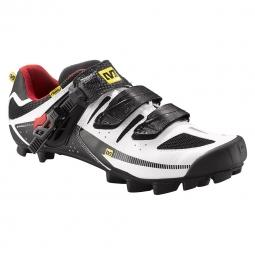 Chaussures VTT Mavic Rush Blanc Noir Rouge