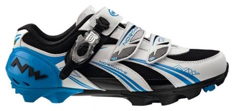 Chaussures VTT Northwave Sparta Sbs Blanc Bleu