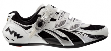 Chaussures Route Northwave FIGHTER SBS 2013 Blanc Argent