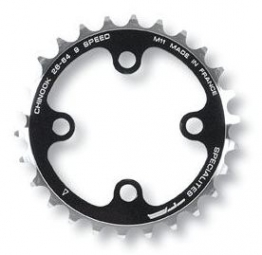 SPECIALITES TA Plateau 4 branches 26 Dents Entraxe 64 mm Noir 9V