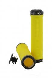SB3 pair KHEOPS Lock On Grips Yellow Black