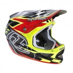 TROY LEE DESIGNS 2013 D3 Team Red Full Face Helmet