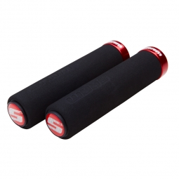 Sram Foam Lock-On Grips Black Red