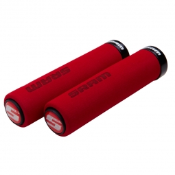 SRAM Foam Grips Lock-On Red / Black