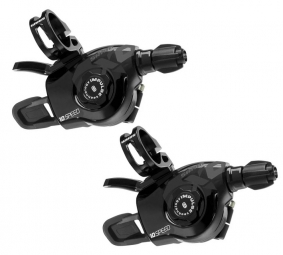 Sram Commandes de vitesses Triggers X0 2 x 10 V (la paire) Noirs
