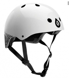 2013 661 SIXSIXONE Helmet White Bowl DIRT LID